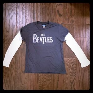 Junk Food The Beatles Sgt Pepper Thermal Tee S/M